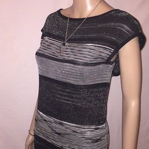 MISSONI horizontal stripes dress